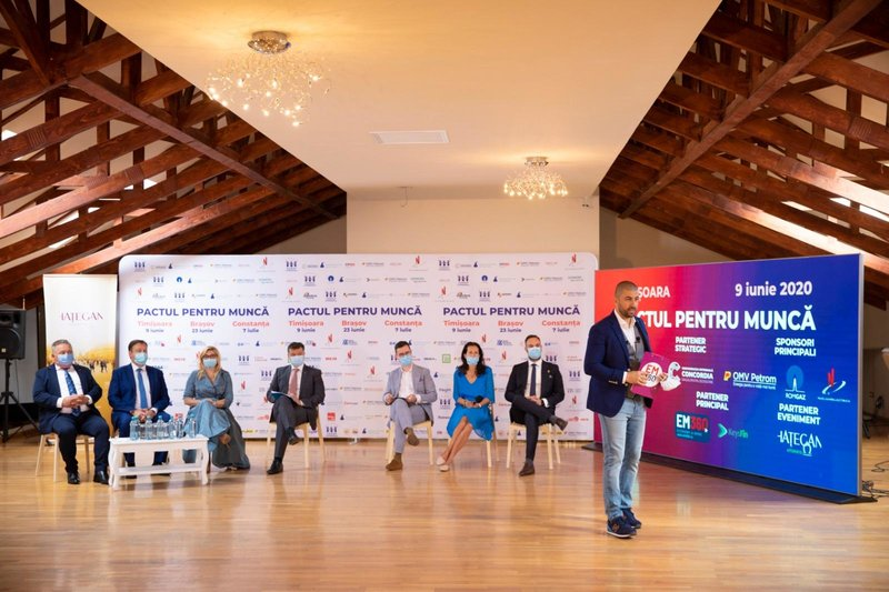 Pactul pentru Muncă: Împreună Reconstruim România