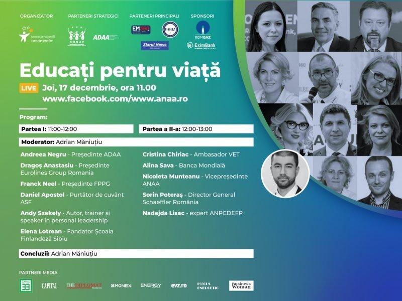 """""""EDUCAȚI PENTRU VIAȚĂ""""- PROIECT INOVATIV PENTRU ROMÂNIA"""