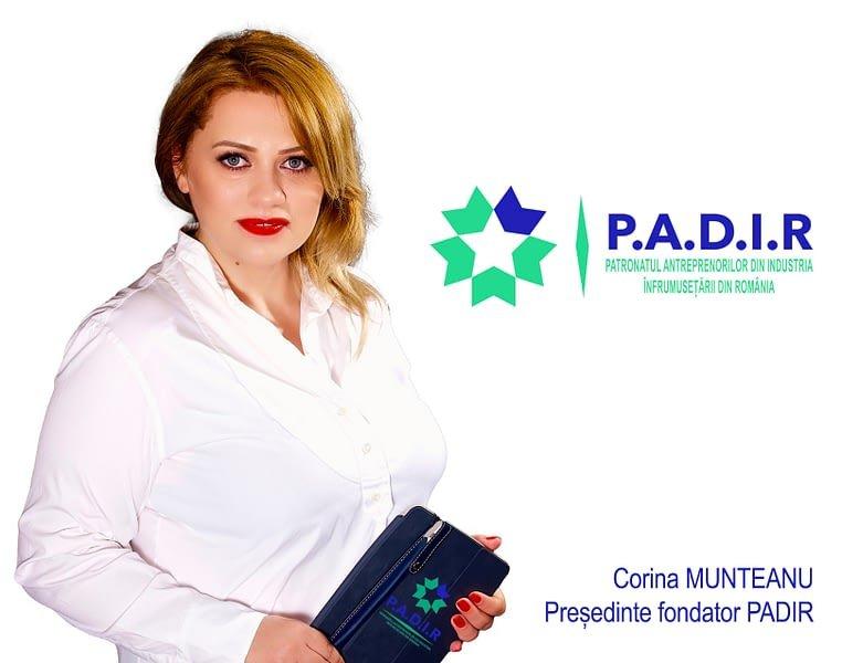 Interviu cu doamna Corina Munteanu - Președinte fondator al PADIR