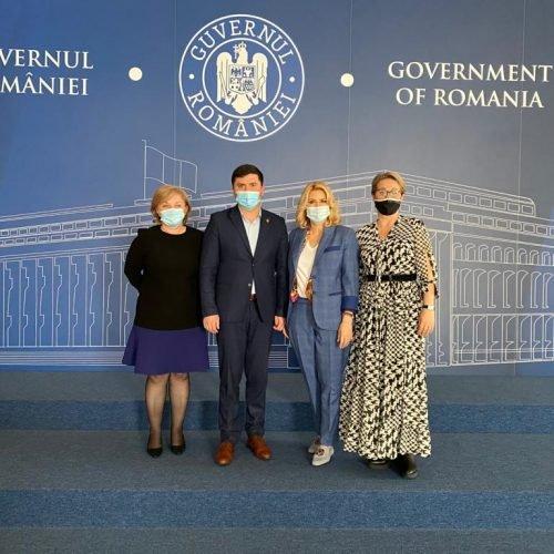 Premierul Florin Cîțu în dialog cu CONAF: