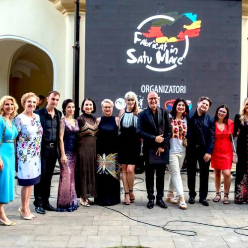 Mișcare unică în România Antreprenorii au fost modele pentru a susține industria textilă