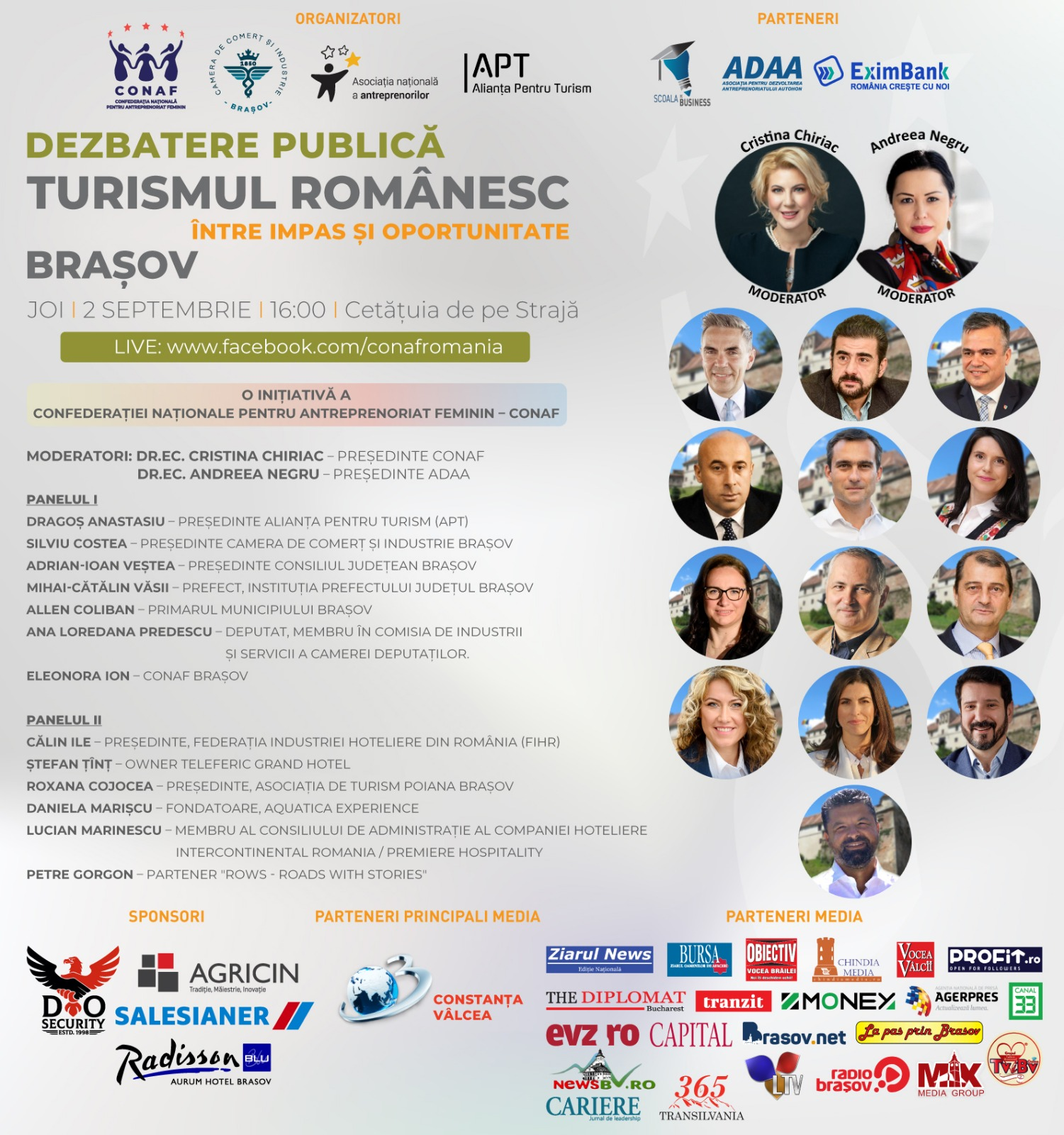 """Brașov - """"Turismul românesc: între impas și oportunitate""""-"""