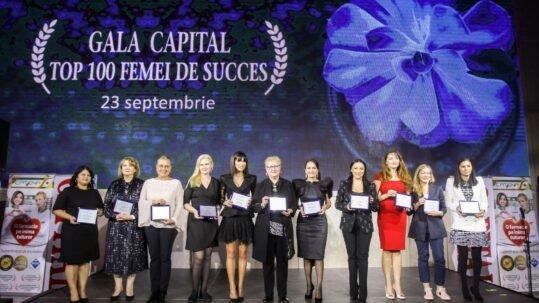 """Revista Capital a lansat """"Top 100 femei de succes din România"""""""